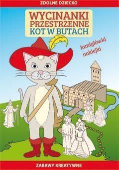 Wycinanki przestrzenne Kot w butach Guzowska Beata, Matwijow Michał