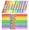 Bibuła marszczona pastel mix - 10 szt. (423710)