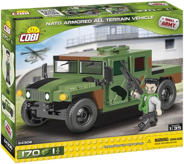 Cobi: Mała Armia. NATO Armored ALL Terrain Vehicle (24306)