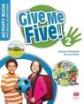 Give Me Five! 2 WB + kod MACMILLAN