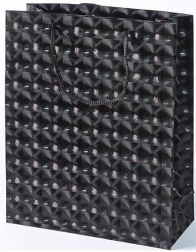 Torebka prezentowa M czarna 0115-03