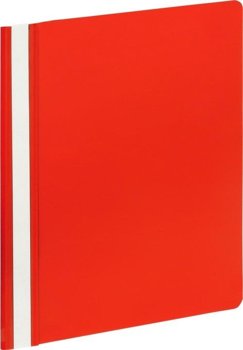Skoroszyt A4 Grand GR 505 czerwony 10 sztuk