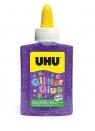 Klej brokatowy UHU glitter 88 ml. Fioletowy (U 49995)