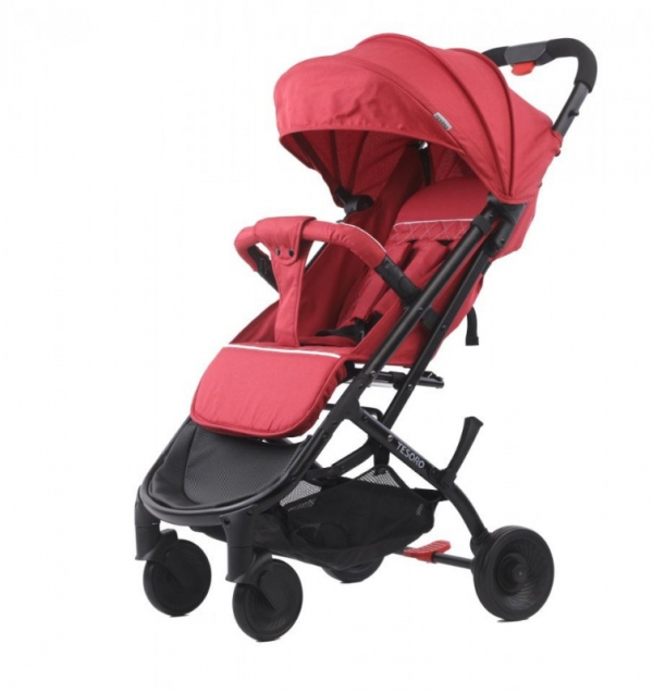 Wózek spacerowy A9 Flax Winny (Tesoro A9-Flax Win Red)