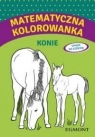 Matematyczna kolorowanka Konie