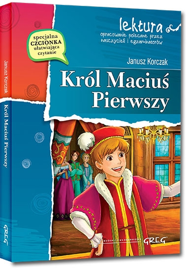 Król Maciuś Pierwszy Janusz Korczak