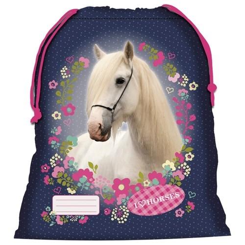 Worek na obuwie Konie 11