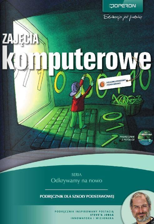 Zajęcia komputerowe 4-6. Podręcznik z płytą CD Hermanowska Grażyna, Hermanowski Wojciech