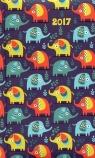 Kalendarz DI2 2017 Kolorowe słoniki