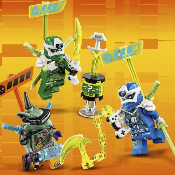 Lego Ninjago: Wyścigówki Jaya i Lloyda (71709)