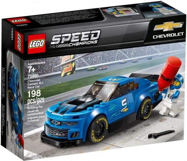 Klocki Speed Champions Chevrolet Camaro ZL1 (75891)