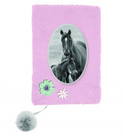 Pamiętnik pluszowy A5 Horses (PP20KO-3670)