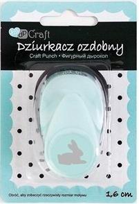Dziurkacz ozdobny/kreatywny 1,6cm - królik (JCDZ-105-054)
