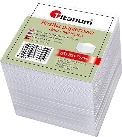 Kostka Titanum Biała N/k Duża