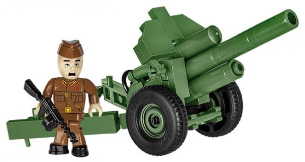 Cobi: Mała Armia. 122 mm Howitzer wz.1938 M-30 - radziecka haubica (2395)