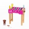 Barbie: Minizestaw - Świat Barbie - Piłkarzyki (GRG75/GRG77)