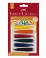 Kredki świecowe 6 kolorów Faber-Castell (120404)