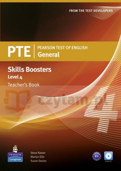 PTE General Skills Booster 4 TB +CD Audio Susan Davies, Martyn Ellis