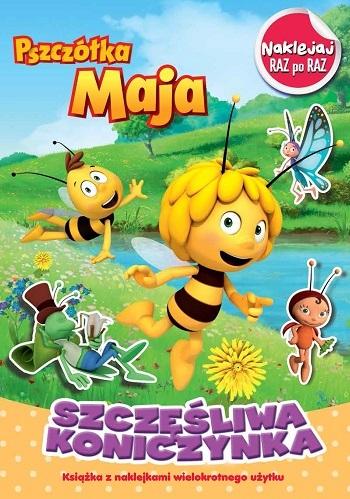 Pszczółka Maja. Szczęśliwa Konieczynka - Naklejka raz po raz opracowanie zbiorowe