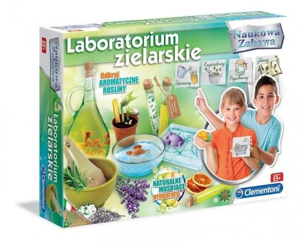 Naukowa zabawa. Labolatorium zielarskie (60895)