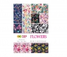 Blok z motywami Flowers A4/15K 80g Happy Color (2030-F)