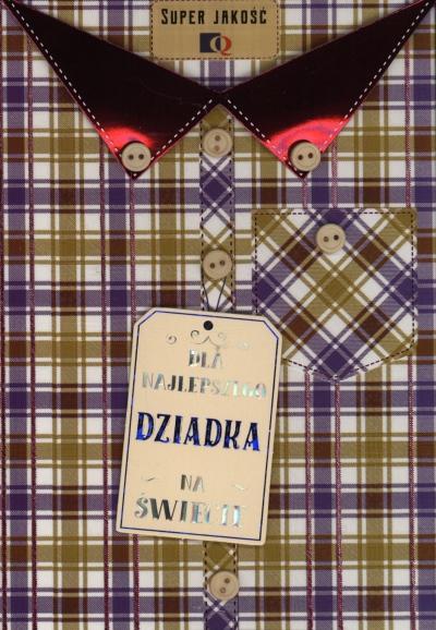Karnet Dla najlepszego Dziadka na świecie DK-654
