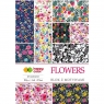 Blok z motywami A4/15 arkuszy - Flowers (434459)