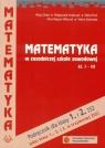 Matematyka w zasadniczej szkole zawodowej 1-3 Podręcznik