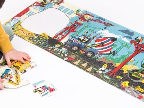 Puzzle 40: CzuCzu: Dłuuugie puzzle - Na budowie (CZU490029)