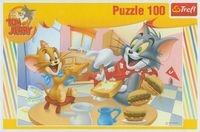 Puzzle Tom i Jerry Pyszne śniadanko 100 elementów (16196)
