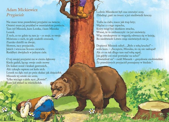 Wiersze Dla Dzieci Kolorowe Ilustracje Kreda Duża Czcionka