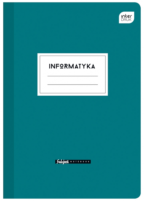 Zeszyt informatyka A5 60 kartek kratka