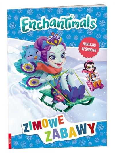 Zimowe zabawy. Enchatimals (OLFX1301) praca zbiorowa