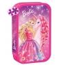 Piórnik podwójny Barbie z wyposażeniem