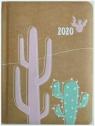 Kalendarz tygodniowy DI3 kraft kaktus