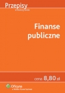 Finanse publiczne Opracowanie zbiorowe