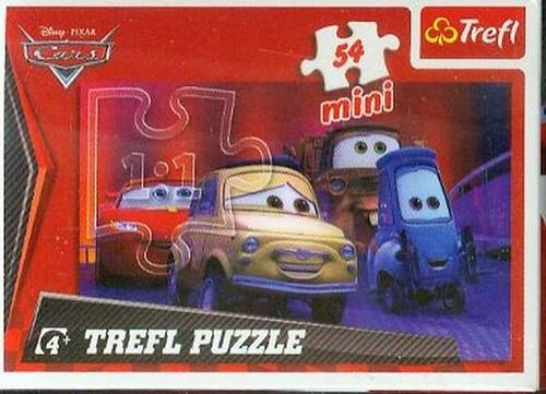 Puzzle mini 54 Auta 2 (19396)