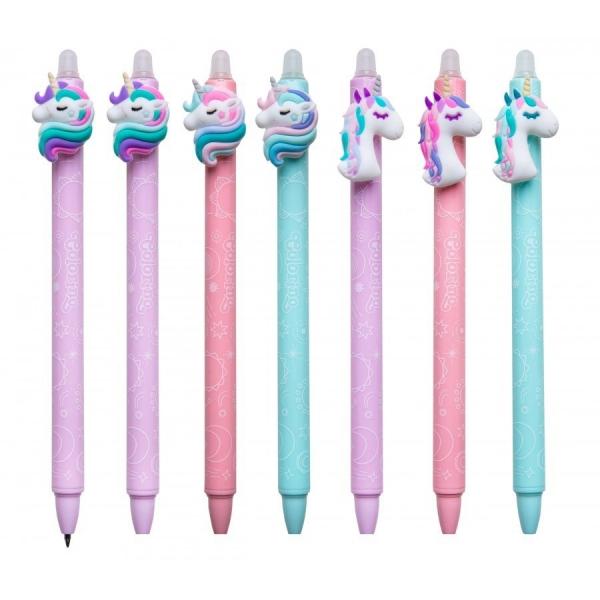 Długopis żelowy wymazywalny