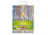Długopisy żelowe brokatowe Cricco, 10 kolorów (CR815W10)