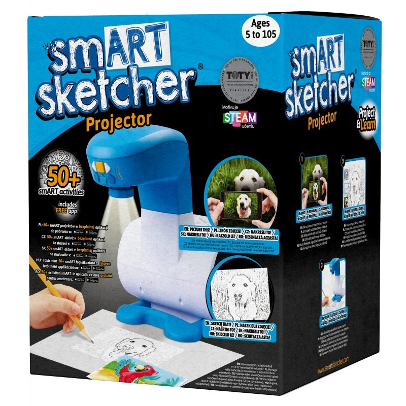Smart Sketcher Projektor (SSP961) (Uszkodzone opakowanie)
