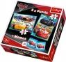 Puzzle 2w1 + Memos Auta 3 Wyścig nowej generacji (90706)