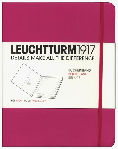 Etui iPad 2-4 Leuchtturm1917 różowe