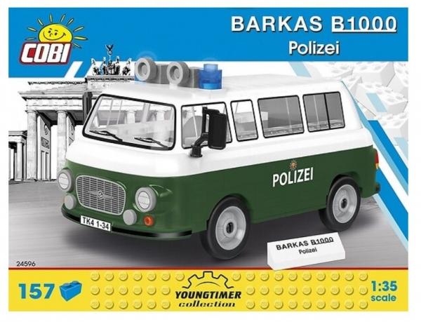 Klocki Cars Barkas B1000 Polizei (24596)