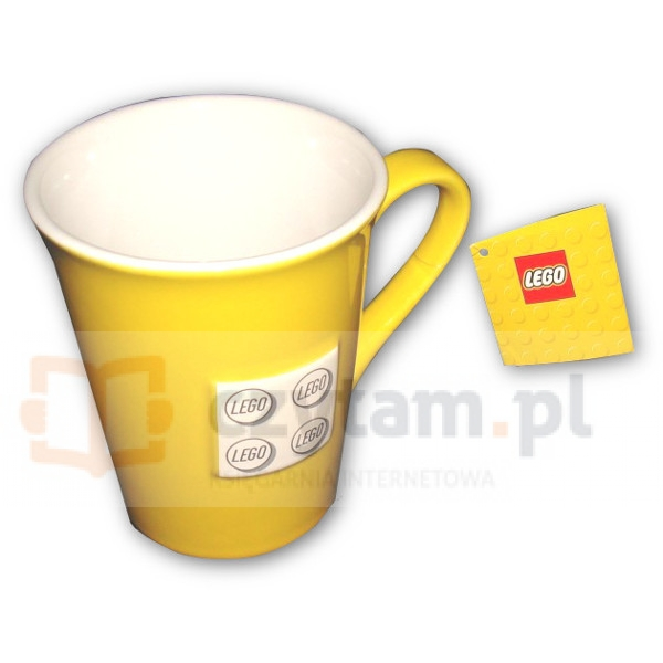 LEGO Kubek 3D biały klocek (850424)