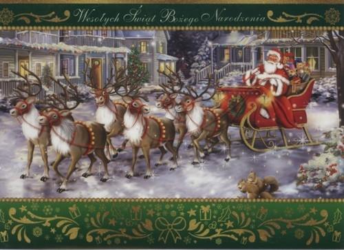Karnet Boże Narodzenie B6-BNB druk 170015