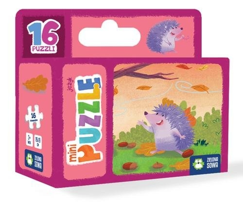 Minipuzzle. Jeżyk