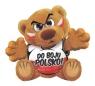 Funny Bear Kibic - Do boju Polsko!