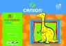 Blok rysunkowy A3 Dino 15 arkuszy 10 sztuk