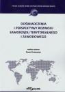 Doświadczenia i perspektywy rozwoju samorządu terytorialnego i zawodowego