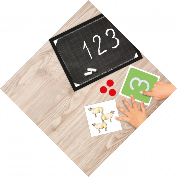 Montessori: Zabawa cyferkami (50096)